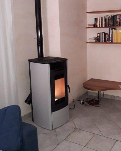 Klover con bruciatore autopulente e wifi integrato